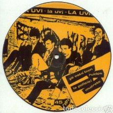 Discos de vinilo: LA UVI - YA ESTA BIEN + 3 - PICTURE DISC - 7''. Lote 137395322