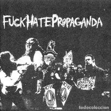 Discos de vinilo: FUCK HATE PROPAGANDA - S/T - COLOUR VINYL - 7''. Lote 133136785