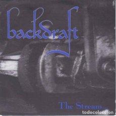 Discos de vinilo: BACKDRAFT - THE STREAM - 7''. Lote 133136877