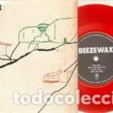 Discos de vinilo: BEEZEWAX - WHEN YOU STOOD UP + TAKE ANY LIFE - RED VINYL - 7''. Lote 133136933