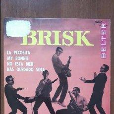 Discos de vinilo: THE BRISK- MY BONNIE/ LA PECOSITA +2- EP BELTER 1964. Lote 133145354