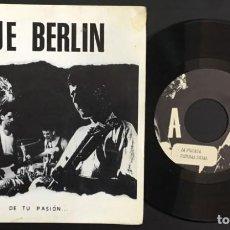 Discos de vinil: EJE BERLIN DE TU PASION DISCOS LA ISLA DE LA TORTUGA B 32668 SINGLE VINILO NUEVO. Lote 133145986