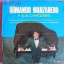 Discos de vinilo: LP - ARMANDO MANZANERO - Y SUS CANCIONES (SPAIN, RCA VICTOR 1966). Lote 133151550