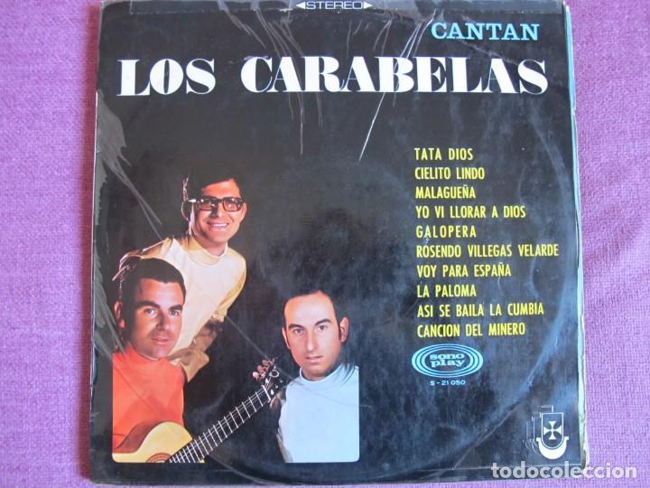 LP - LOS CARABELAS - CANTAN LOS CARABELAS (SPAIN, SONOPLAY 1968) (Música - Discos - LP Vinilo - Grupos Españoles 50 y 60)