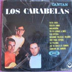 Discos de vinilo: LP - LOS CARABELAS - CANTAN LOS CARABELAS (SPAIN, SONOPLAY 1968). Lote 133152190