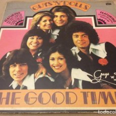 Discos de vinilo: GUYS N DOLLS - FOR THE GOOD TIMES. ARIOLA 1976. PORTADA DOBLE.. Lote 133175710