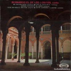 Dischi in vinile: BERNARDO EL DE LOS LOBITOS - CANTA ME DIERON AGUAL...EP SONO PLAY DE 1968 RF-3532. Lote 133180622