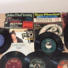 Discos de vinilo: LOTE DE VARIOS SINGLES DE LOS 70/80 - DISCOS SIN FUNDA. Lote 133183942