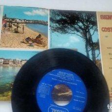 Discos de vinilo: E P (VINILO) BIENVENIDOS A LA COSTA BRAVA AÑOS 60. Lote 133186506