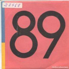 Discos de vinilo: LAS AVENTURAS DE KIRLIAN / UN DIA GRIS / PEZ LUNA (SINGLE 1989). Lote 133194258
