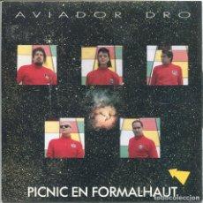 Discos de vinilo: EL AVIADOR DRO Y SUS OBREROS ESPECIALIZADOS/ PICNIC EN FORMALHAUT / DRAGON (SINGLE PROMO 1988). Lote 133195502