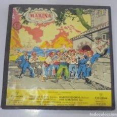 Discos de vinilo: CAJA CON 2 LP. CAMPODRON MARINA ARRIETA. COLUMBIA. DANIEL MONTORIO.. Lote 133197494