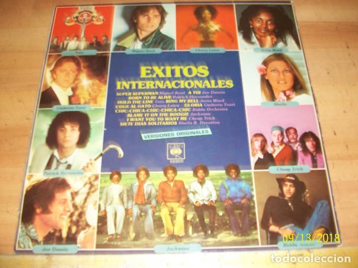 EXITOS INTERNACIONALES-TOTO-MIGUEL BOSE-CHERRY LAINE-UMBERTO TOZZI-ANITA WARD (Música - Discos - LP Vinilo - Otros estilos)