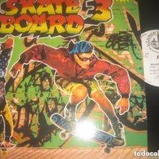 Discos de vinilo: SKATE BOARD 3.- DOBLE -...NOMAD + AFRIKA (BLANCO Y NEGRO 1991) OG ESPAÑA LEA DESCRIPCION. Lote 133216166