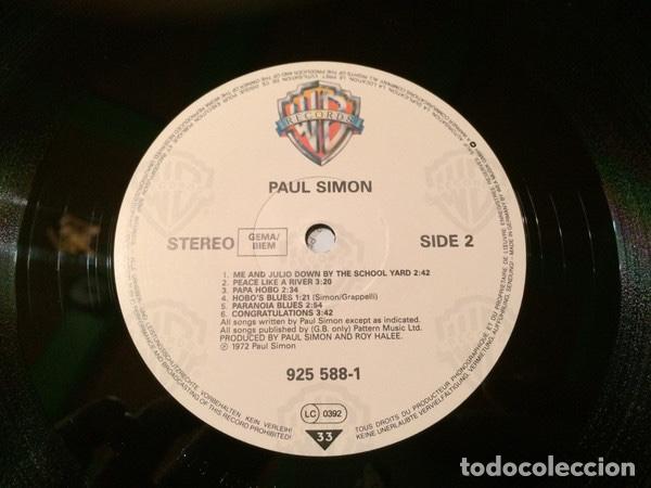 Discos de vinilo: Paul Simon – Paul Simon (1972) Sello: Warner Bros. Records – 925 588-1 - Foto 4 - 133217586
