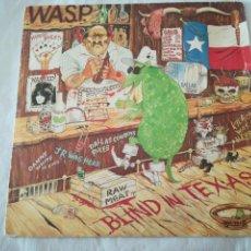 Discos de vinilo: WASP BLIND IN TEXAS SAVAGE. SINGLE DISCO VINILO. 1985. EMI. W.A.S.P.. Lote 133227989