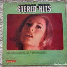 Discos de vinilo: STEREO-HITS - HUGO WINTERHALTER Y SU ORQUESTA - SPAIN - KAPPS RECORDS 1968. Lote 133240810