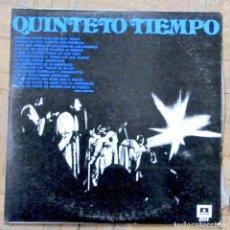 Discos de vinilo: QUINTETO TIEMPO. ODEON 3335, 1975. GUATEMALA. FUNDA EX, DISCO EX.. Lote 133242122