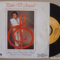 Discos de vinil: PINO D ANGIO - JULIUS CAEASR PLUM + UN PO D UVA ED UN LIQUORE - SINGLE 1982 - RCA. Lote 133253826