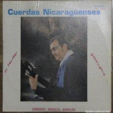 Discos de vinilo: CUERDAS NICARAGÜENSES. ARMANDO MORALES. DISCOTECA JUVENIL, PP-002, 191, NICARAGUA.. Lote 133254678