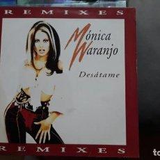 Discos de vinilo: MONICA NARANJO - DESATAME REMIXES - 4 VERSIONES 1997 SONY MUSIC. Lote 133265066