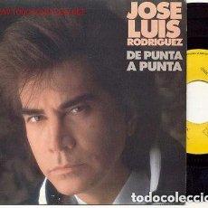 Discos de vinilo: JOSÉ LUIS RODRÍGUEZ - DE PUNTA A PUNTA - SINGLE PROMO SPAIN 1990. Lote 133265630