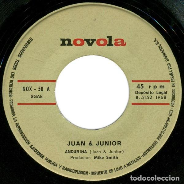 Discos de vinilo: Juan & Junior – Anduriña (España, 1968) - Foto 3 - 133265946