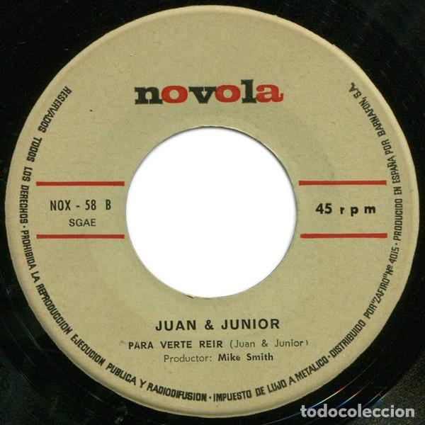 Discos de vinilo: Juan & Junior – Anduriña (España, 1968) - Foto 4 - 133265946