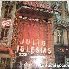 Discos de vinilo: JULIO IGLESIAS- EN EL OLYMPIA - LP DOBLE SPAIN 1976 . Lote 133278434