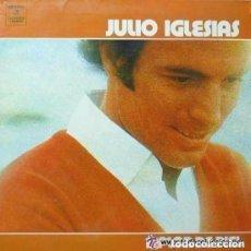 Discos de vinilo: JULIO IGLESIAS A FLOR DE PIEL - DOBLE PORTADA LP SPAIN 1976. Lote 133278878