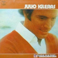 Discos de vinilo: JULIO IGLESIAS A FLOR DE PIEL - DOBLE PORTADA LP SPAIN 1976. Lote 133279066