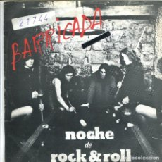 Discos de vinilo: BARRICADA / NOCHE DE ROCK & ROLL / LA SILLA ELECTRICA (SINGLE 1983). Lote 133279914