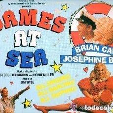 Discos de vinilo: MICHAEL ROSE PRESENTS: DAMES AT SEA - A MUSICAL COMEDY. - LP 1989 ENGLAND. Lote 133280678