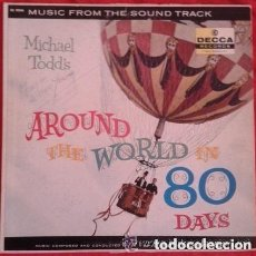Discos de vinilo: VICTOR YOUNG - MICHAEL TODD'S AROUND THE WORLD IN 80 DAYS - MUSIC FROM THE SOUND TRACK (LP US 1957). Lote 133281590