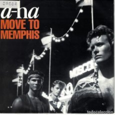 Disques de vinyle: A-HA - MOVE TO MEMPHIS / CRYING IN THE RAIN (SINGLE ALEMAN, WB RECORDS 1991). Lote 133288826