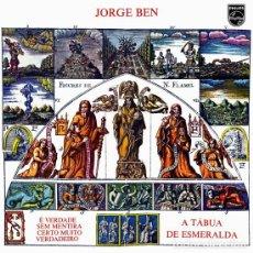 Discos de vinilo: JORGE BEN LP A TABUA DE ESMERALDA OBRA MAESTRA BRASIL. Lote 133296342