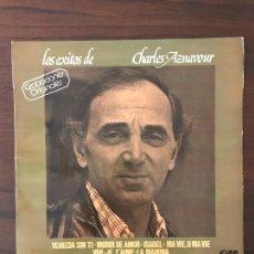 Discos de vinilo: CHARLES AZNAVOUR ?– LOS ÉXITOS DE CHARLES AZNAVOUR SELLO: GRAMUSIC ?– GM-753 FORMATO: VINYL, LP . Lote 133300738
