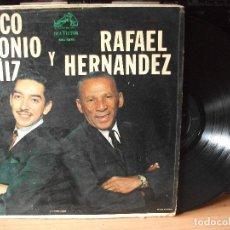 Discos de vinilo: MARCO ANTONIO MUÑIZ Y RAFAEL HERNANDEZ MEXICO MKL 1756 JAVICOLACION PEPETO. Lote 133304390