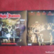 Discos de vinilo: NIGHT DEMON LIVE DARKNESS (IRON MAIDEN, SAXON, JUDAS PRIEST DIAMOND HEAD) 3 VINILOS ROJO Y 2 CDS. Lote 133307126