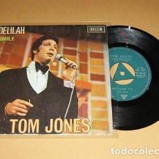 Discos de vinilo: TOM JONES - DELILAH - SINGLE - 1967. Lote 133310030