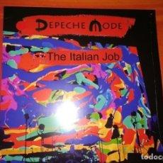 Discos de vinilo: 3XLP DEPECHE MODE - ITALIAN JOB 2018,EDICIÓN LIMITADA. Lote 133312126
