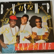 Discos de vinilo: B.V.S.M.P. - ANYTIME - 1988. Lote 133318690