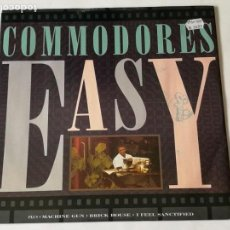 Discos de vinilo: COMMODORES - EASY - 1988. Lote 133318946