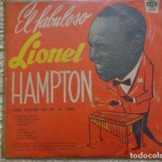 Discos de vinilo: EL FABULOSO LIONEL HAMPTON - 1959 - CID-J-3072 - MUY RARO - EN PERFECTAS CONDICIONES. Lote 133319202