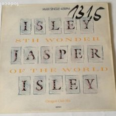 Discos de vinilo: ISLEY JASPER ISLEY - 8TH WONDER OF THE WORLD - 1987. Lote 133319258