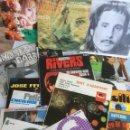 Discos de vinilo: COLECCIÓN DE DISCOS LP Y SINGLES. Lote 133325782