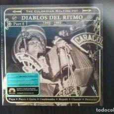 Discos de vinilo: VARIOS-DIABLOS DEL RITMO. THE COLOMBIAN MELTING POT 1960-1983 (PART TWO). Lote 133329014
