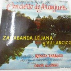 Discos de vinilo: JOAQUIN RODRIGO-CONCIERTO DE ARANJUEZ-ZARABANDA LEJANA Y VILLANCICO-RENATA TARRAGO-EP-N. Lote 133329562