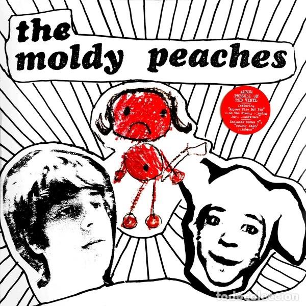 LP THE MOLDY PEACHES VINILO ROJO + SINGLE (Música - Discos - LP Vinilo - Pop - Rock Extranjero de los 90 a la actualidad)