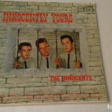 Discos de vinilo: ALBUM DEL TRIO NORTEAMERICANO DE MUSICA POP Y DOO-WOP THE INNOCENTS. Lote 133330454